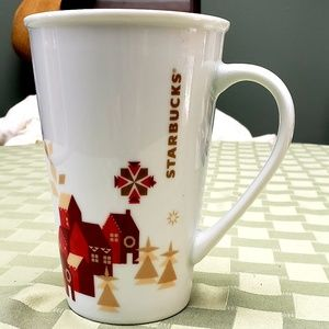 STARBUCKS 2013 Christmas Village Coffee Mug